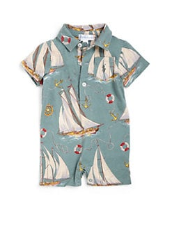 Ralph Lauren - Infant's Nautical Shortall