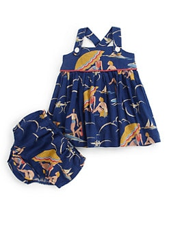 Ralph Lauren - Infant's Retro Beach Sundress & Bloomers