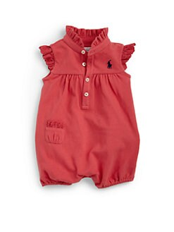 Ralph Lauren - Infant's Polo Bubble Shortall