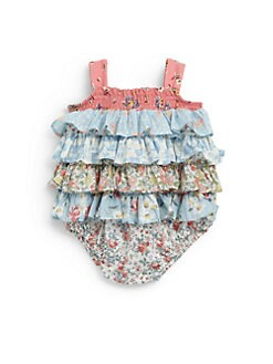 Ralph Lauren - Infant's Ruffled Bubble Shortall