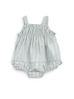 Ralph Lauren - Infant's Striped Tunic & Bloomers Set