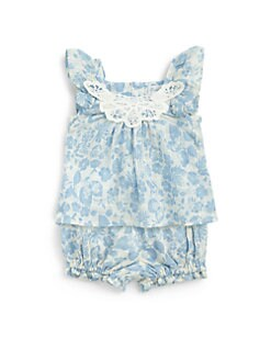Ralph Lauren - Infant's Two-Piece Floral Tunic & Bloomers Set