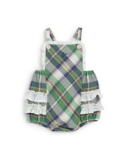 Ralph Lauren - Infant's Plaid Bubble Romper