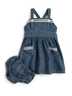 Ralph Lauren - Infant's Vintage Sailor Dress & Bloomers Set