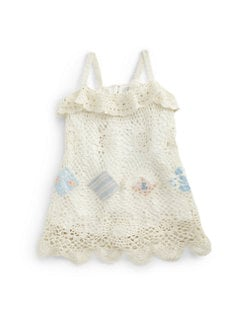 Ralph Lauren - Infant's Crochet Patchwork Sundress