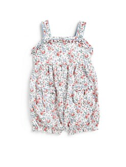 Ralph Lauren - Infant's Floral Babydoll Romper