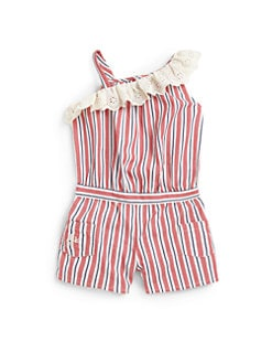 Ralph Lauren - Infant's Striped Romper