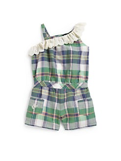 Ralph Lauren - Infant's Plaid Romper