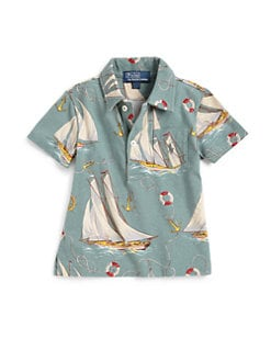 Ralph Lauren - Infant's Sailboat Polo Shirt
