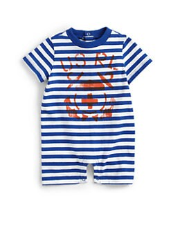 Ralph Lauren - Infant's Striped Ringer Shortall