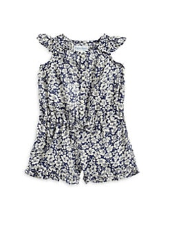 Ralph Lauren - Infant's Floral Ruffled Romper