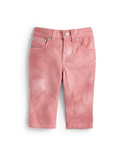 Ralph Lauren - Infant's Cropped Watercolor Skinny Jeans