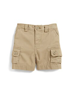 Ralph Lauren - Infant's Cotton Twill Cargo Shorts