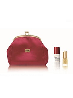 Cellcosmet Switzerland - Red Satin Clutch