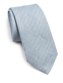 Burberry London - Rohan Linen-Blend Tie