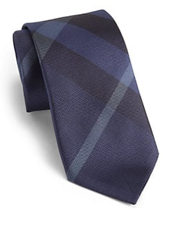 Burberry London - Silk Check-Print Tie