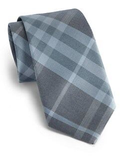 Burberry London - Checked Silk Tie