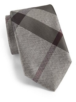 Burberry London - Silk Checked Tie