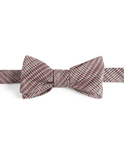 Burberry London - Plaid Silk/Wool Bow Tie