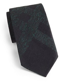 Burberry London - Subtle-Check Silk Tie