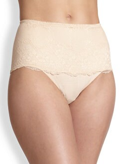Le Mystere - Defining Lace Tummy Tamer High-Waisted Brief