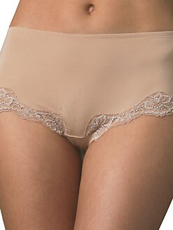 Le Mystere - Lace-Trim Boy Shorts