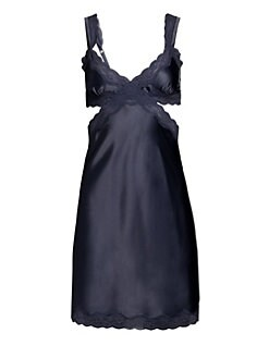 Stella McCartney - Clara Whispering Stretch Silk Chemise
