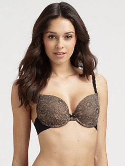 Le Mystere - Floreale Lace-Print Convertible Bra