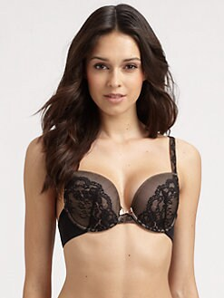Le Mystere - Aria Lace-Trim T-Shirt Bra