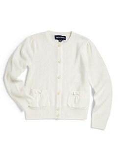 Ralph Lauren - Toddler's & Little Girl's Cashmere Cardigan