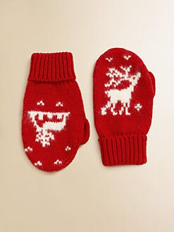 Ralph Lauren - Toddler's & Little Girl's Reindeer Mittens
