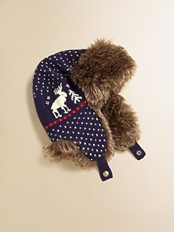 Ralph Lauren - Girl's Faux Fur Trapper Hat