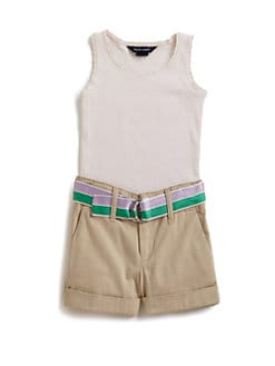 Ralph Lauren - Toddler's & Little Girl's Rib Knit Tank