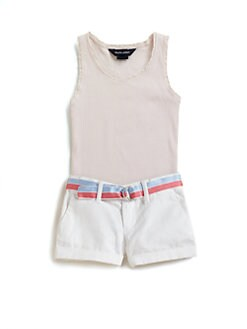 Ralph Lauren - Girl's Cotton Tank Top