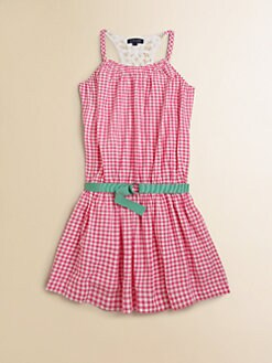 Ralph Lauren - Girl's Gingham Dress