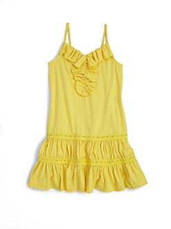 Ralph Lauren - Toddler's & Little Girl's Ruffled Jersey Dress