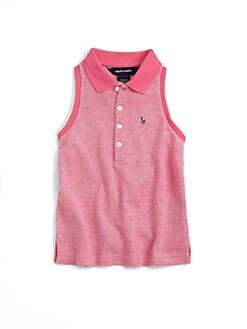 Ralph Lauren - Toddler's & Little Girl's Sleeveless Polo Shirt