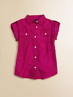 Ralph Lauren - Toddler's & Little Girl's Silk Safari Tunic