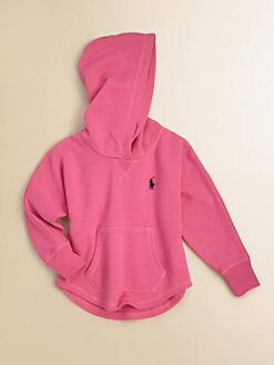 Ralph Lauren - Toddler's & Little Girl's Signature Pony Hoodie