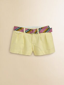 Ralph Lauren - Toddler's & Little Girl's Oxford Shorts