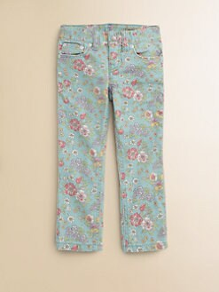 Ralph Lauren - Toddler's & Little Girl's Floral Skinny Jeans