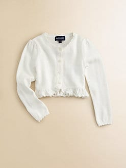 Ralph Lauren - Toddler's & Little Girl's Scalloped Cardigan
