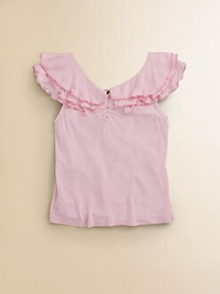 Ralph Lauren - Toddler's & Little Girl's Flutter Sleeve Top