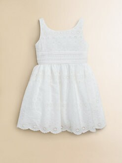 Ralph Lauren - Toddler's & Little Girl's Eyelet Dress