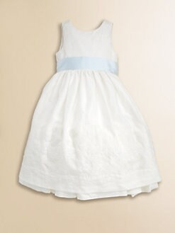 Ralph Lauren - Toddler's & Little Girl's Embroidered Linen Dress