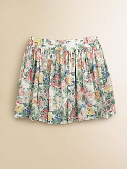 Ralph Lauren - Girl's Floral Skirt
