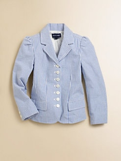 Ralph Lauren - Toddler's & Little Girl's Seersucker Blazer