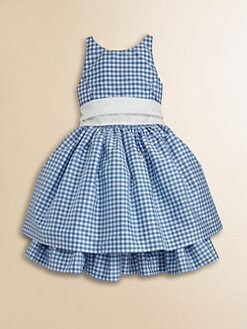 Ralph Lauren - Toddler's & Little Girl's Silk Gingham Dress