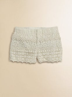 Ralph Lauren - Toddler's & Little Girl's Lace Shorts