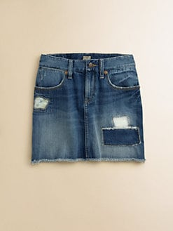 Ralph Lauren - Girl's Patchwork Denim Skirt